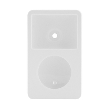 Plastové pogumované pouzdro pro Apple iPod classic 80GB / 120GB / 160GB (Late 2009) - bílé