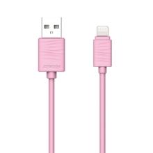 Synchronizační a nabíjecí kabel JOYROOM - Lightning pro Apple zařízení - růžový - 1m