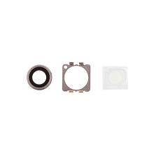 Krycí sklíčko zadní kamery Apple iPhone 6 - stříbrné - kvalita A