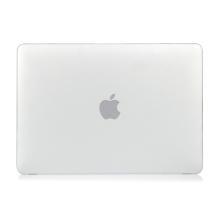 """Obal / kryt pro MacBook Air 2018 13.3"""" (A1932) - plastový - bílý"""
