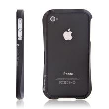 Kvalitní hliníkový bumper Cleave pro Apple iPhone 4S - černý