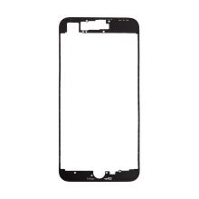 Rámeček předního panelu pro Apple iPhone 8 Plus - plastový - černý - kvalita A+