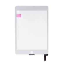 Přední dotykové sklo (touchscreen) pro Apple iPad mini 4 - bílý rámeček - kvalita A+