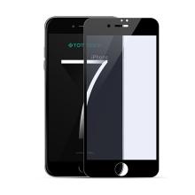 Tvrzené sklo (Tempered Glass) TOTU 3D pro Apple iPhone 7 - černý rámeček (tl. 0,23mm)