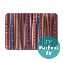Plastový obal pro Apple MacBook Air 11 - textilní povrch