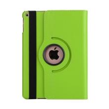 Pouzdro pro Apple iPad Air 1 / Air 2 / 9,7 (2017-2018) - 360° otočný stojánek - zelené