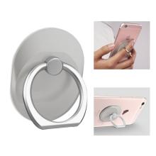 Stojánek / prsten na zadní stranu Apple iPhone - kovový - stříbrný