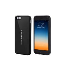 Kryt Mercury pro Apple iPhone 6 Plus / 6S Plus plasto-gumový - prostor pro umístění platební karty na vnitřní straně - černý