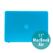 Tenký ochranný plastový obal pro Apple MacBook Air 13.3 - matný - modrý