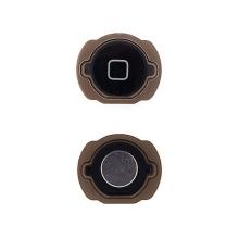 Tlačítko Home Button pro Apple iPod touch 4.gen. - černé - kvalita A+
