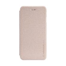 Tenké ochranné pouzdro Nillkin pro Apple iPhone 6 / 6S s výřezem pro logo - zlaté