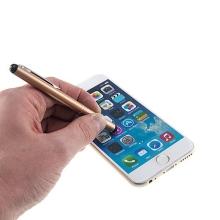 Kovové dotykové pero / stylus pro Apple iPhone / iPad / iPod - zlaté