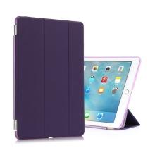 Pouzdro + odnímatelný Smart Cover pro Apple iPad Pro 9,7 - fialové