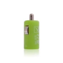 Mini USB auto nabíječka pro Apple iPhone / iPod - zelená