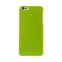 Kryt Mercury Goospery pro Apple iPhone 6 Plus / 6S Plus gumový - zelený s třpytivými prvky