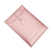 Pouzdro / obal SOYAN pro Apple MacBook 12 Retina - obálka / umělá kůže - rose gold