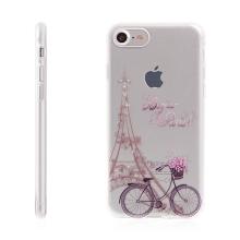 Kryt pro Apple iPhone 7 / 8 - gumový - Eiffelovka