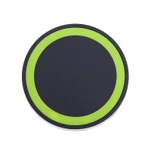 Bezdrátová nabíječka / nabíjecí podložka Qi - mini - plastová - černá / barevná