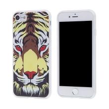 Kryt pro Apple iPhone 7 / 8 - gumový - tygr