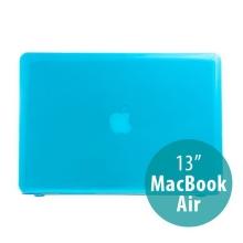 Tenký ochranný plastový obal pro Apple MacBook Air 13.3 - lesklý - světle modrý