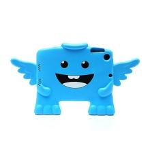 Ochranné pěnové pouzdro pro děti na Apple iPad mini / mini 2 / mini 3 - anděl - modré
