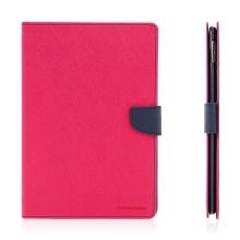 Pouzdro MERCURY Fancy Diary pro Apple iPad Pro 9,7 - stojánek a prostor na doklady - růžové / modré