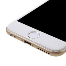 Samolepka na tlačítko Home Button Apple iPhone / iPad - podpora / zachování funkce Touch ID - bílá / stříbrná
