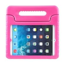 Ochranné pěnové pouzdro pro děti na Apple iPad Air 1.gen. s rukojetí / stojánkem - růžové