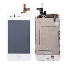 Kompletně osazená přední čast (LCD, digitizér atd.) pro Apple iPhone 3GS - bílý rámeček - kvalita A