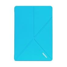 Pouzdro REMAX pro Apple iPad Air 2 - variabilní stojánek, funkce chytrého uspání - modré