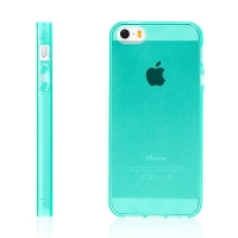Kryt pro Apple iPhone 5 / 5S / SE - gumový - zelený