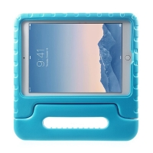 Ochranné pěnové pouzdro pro děti na Apple iPad Air 2 s rukojetí / stojánkem - modré