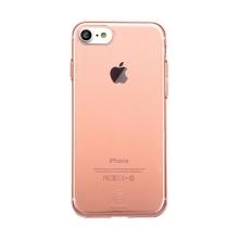 Kryt Baseus pro Apple iPhone 7 / 8 gumový - Rose Gold průhledný