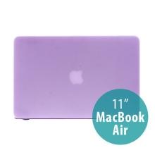 Tenký ochranný plastový obal pro Apple MacBook Air 11.6 - matný - fialový