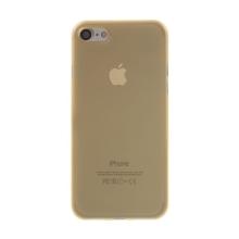 Kryt / obal pro Apple iPhone 7 / 8 - ochrana čočky - ultratenký - plastový - matný - zlatý