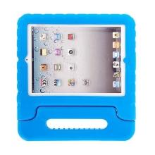 Ochranné pěnové pouzdro pro děti na Apple iPad 2. / 3. / 4.gen. s rukojetí / stojánkem - modré