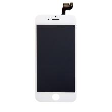 LCD panel + dotykové sklo (touch screen digitizér) pro Apple iPhone 6S - osazený - bílý - kvalita A