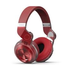 Sluchátka Bluedio T2 bezdrátová Bluetooth 4.1 - červená