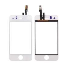 Sklo s dotykovou vrstvou (touch screen digitizer) pro Apple iPhone 3G - bílý rámeček - kvalita A
