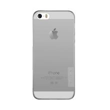 Kryt NILLKIN Nature pro Apple iPhone 5 / 5S / SE - gumový - průsvitný / šedý