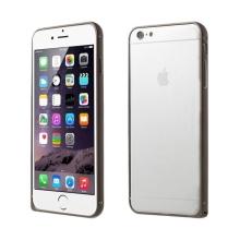 Tenký hliníkový rámeček / bumper LOVE MEI pro Apple iPhone 6 - hnědý