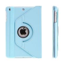 Pouzdro / kryt pro Apple iPad mini / mini 2 / mini 3 - 360° otočný držák - modré