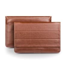 Brašna QIALINO pro Apple MacBook Air / Pro 13 kožená luxusní - hnědá
