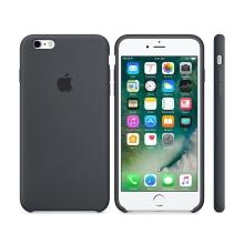Originální kryt pro Apple iPhone 6 / 6S - silikonový - uhlově šedý
