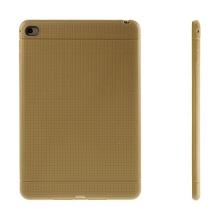 Gumový kryt / pouzdro pro Apple iPad mini 4 - tečkovaný - hnědý