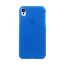 Kryt pro Apple iPhone Xr - gumový - matný - modrý