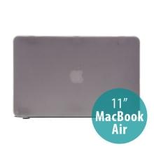 Tenký ochranný plastový obal pro Apple MacBook Air 11.6 - matný - šedý
