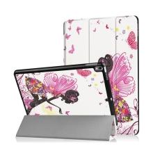 Pouzdro / kryt pro Apple iPad Pro 10,5 - funkce chytrého uspání + stojánek - víla