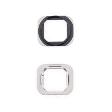 Kovový rámeček tlačítka Home Button pro Apple iPhone 6 / 6 Plus - černý (Black) - kvalita A+