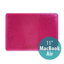 Plastový obal pro Apple MacBook Air 11 - třpytivý povrch - růžový